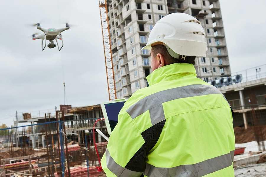 Acompanhamento de Obras com Drones